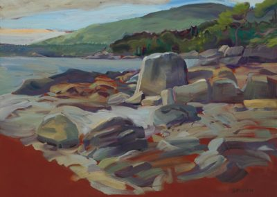 Red Rock Study-Pasley Island