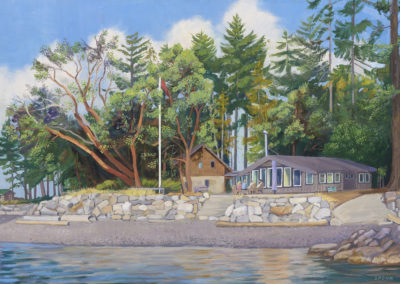 Merritt's cottage