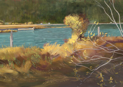 Where the River Meets the Sea 36x24